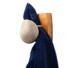 Stone Hook Coast Hook White Stone Cherry with Blue Towel