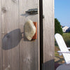 Stone Hook Coast Hook Grey Stone Cherry Outdoor Shower Handle
