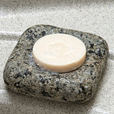 Handmade Cove Granite Soap Dish in Bathroom