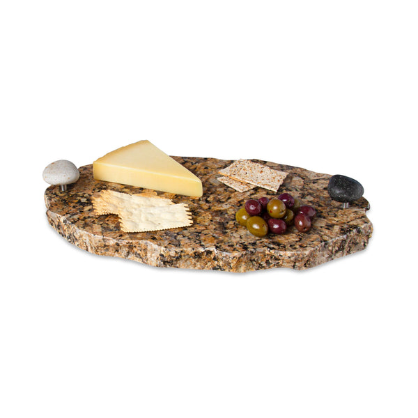 Chillable Serving Tray with Lazy Susan