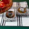 Cool Coasters Granite Chilling Set with Granite Whiskey Stone with Bourbon and Apples