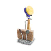 Embrace Dish Brush and Sponge Holder with Dish Brush and Sponge