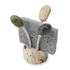 Granite Sponge Holder Sea Stone Splash Granite Stone Aluminum with Sponge