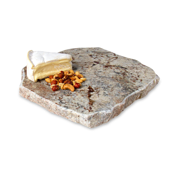 Chillable Serving Tray Lazy Susan with Cheese and Nuts