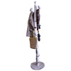New England Coast Tree Birch Granite Stone Coat Tree with Coats Purse Umbrella