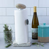 Helping Hand Granite Stone Aluminum Paper Towel Holder with Wine and Herbs