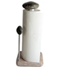 Helping Hand Granite Stone Aluminum Paper Towel Holder with Paper Towel