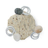 Bottoms Up Wine Bottle Holder Top Down Medium Granite