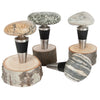 Stone Bottle Stopper Stainless Steel