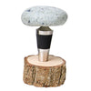 New England Stone Bottle Stopper with Solo