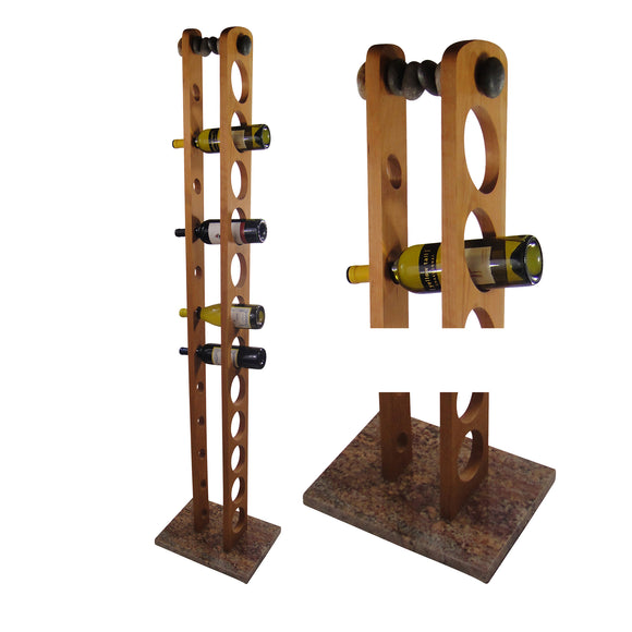 Floor Wine Rack Granite Wine Rack with Wine Bottles