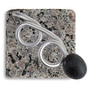 Encircle Granite Toothbrush Holder Top Down View