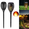 LED Solar Flame Lamp