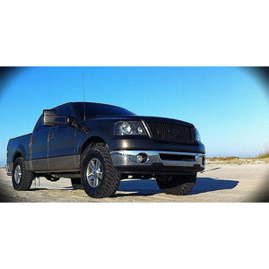 2004-2008 Ford F150 Headlights | Black Headlights
