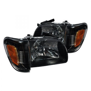 Toyota Tacoma | Black Headlights | 2001-2004 Models
