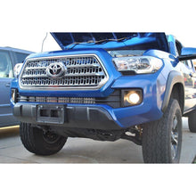 Load image into Gallery viewer, Toyota Tacoma Lower Bumper Grille Hidden Insert LED Light Bar Mounting Brackets | 2005 - Current | 32 Inch Bar
