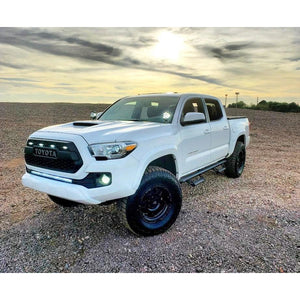White Raptor Lights For Pro Grille | 2016 - Current | Toyota Tacoma