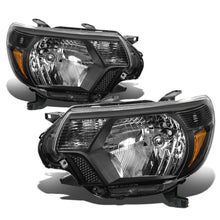 Load image into Gallery viewer, 2012-2015 Toyota Tacoma Black Headlights | All Models