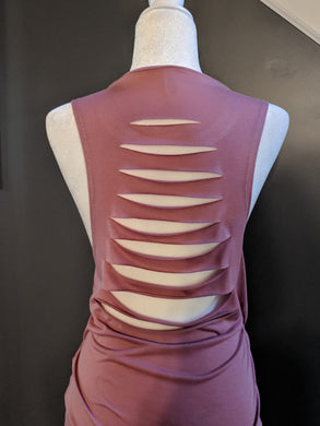 9cce6501 Add On - Hand Altered Sliced Back For Muscle Tanks