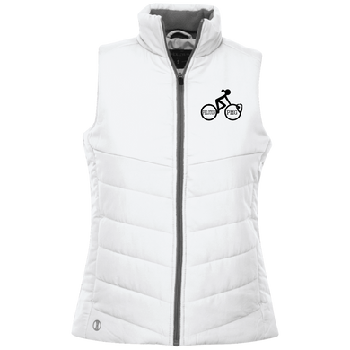 Peloton PMG (black logo) - Ladies' Quilted Vest
