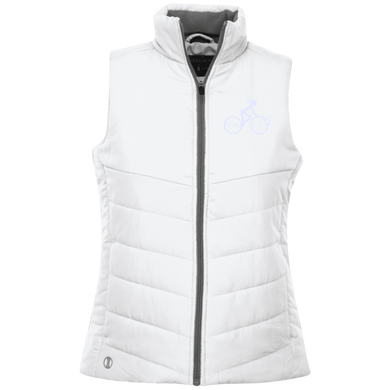 Peloton PMG (White Logo) - Ladies' Quilted Vest