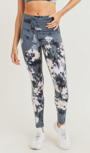 Hint of Aspen - High Waist Leggings