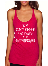 That's My Superpower - Triblend Racerback Tank
