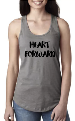 Hips Back Heart Forward - Racerback Tank