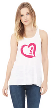 Love Day- Flowy Bella Canvas Racerback Tank