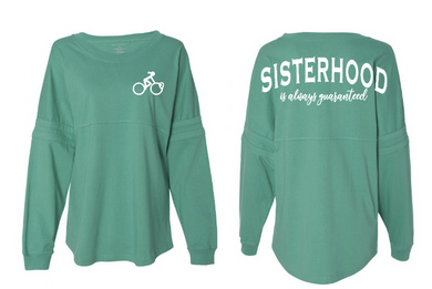 Sisterhood Is Always Guaranteed-Pom Jersey- Pelo PMG