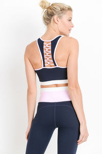 West Coast- Lattice Detailed Sports Bra
