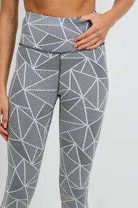 Mosaic Madness High Waisted Leggings