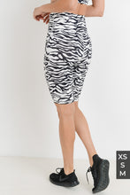 Gone Wild- Zebra Print Bicycle Shorts