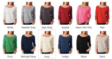 Thankful as a Mother-Ladies' French Terry 3/4-Sleeve Raglan