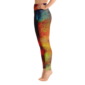 The Desert at Night Yoga Leggings