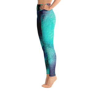 The Northern Lights Yoga Leggings