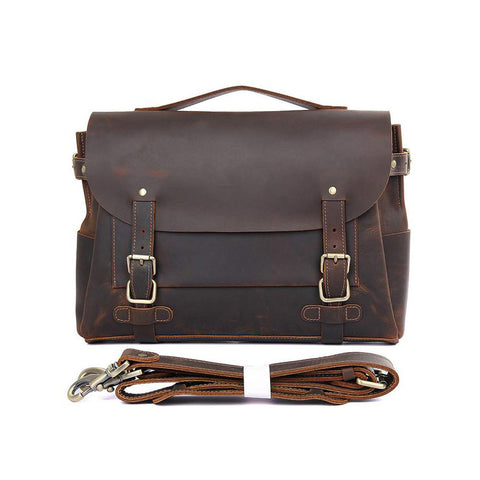 Classic Leather Briefcase - BGII