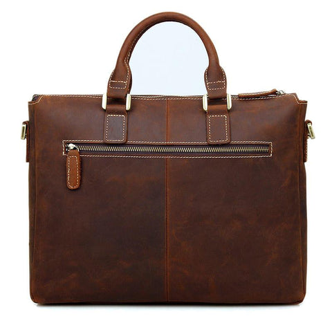 Leather Briefcase - Metro