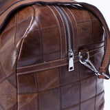 Stylish Leather Duffle Bag - Paris