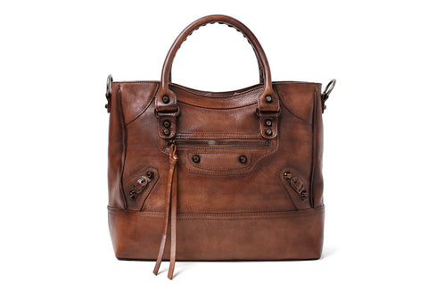 Leather Women's Handbag - Senorita