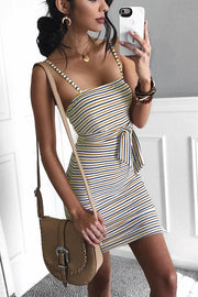VOKJJ Colored Striped Dress - Hellosuitlady