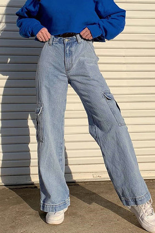 Loose Casual Pocket Trousers
