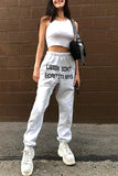 Ins Street Shot High Waist Wild Casual Trousers