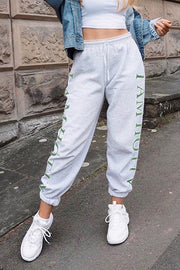 VOKJJ Street Style Printed Breathable Sports Trousers - Hellosuitlady