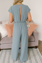 VOKJJ Versatile Lace Button Ladies Jumpsuit - Hellosuitlady