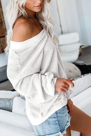VOKJJ Zone Thermal Knit Top - Hellosuitlady
