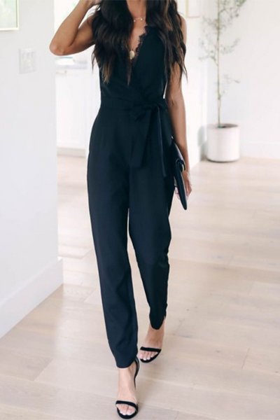Slim Strange Magic Pocketed Jumpsuit