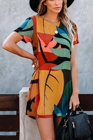 VOKJJ Graffiti Dress - Hellosuitlady