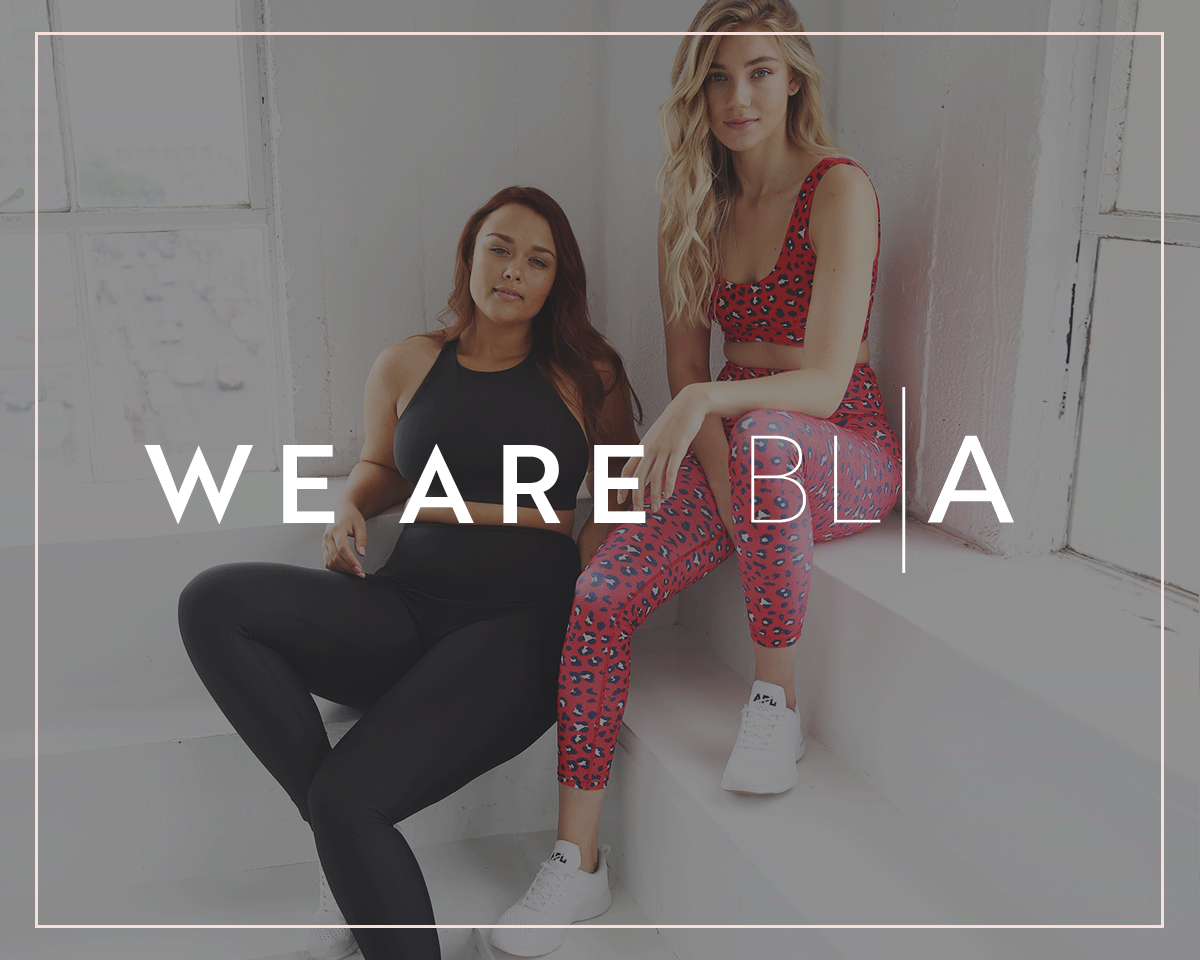 A BETTER WAY TO SHOP ACTIVEWEAR. BLANK LABEL ACTIVE