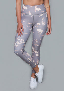 NO. 0115 ZIPPER POCKET LEGGING- SUN BLEACH